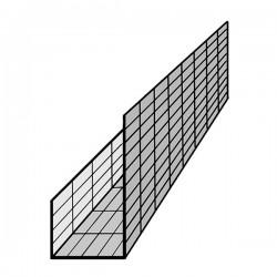 Bodenplatten Randabschalung mit Fundamentbalken
