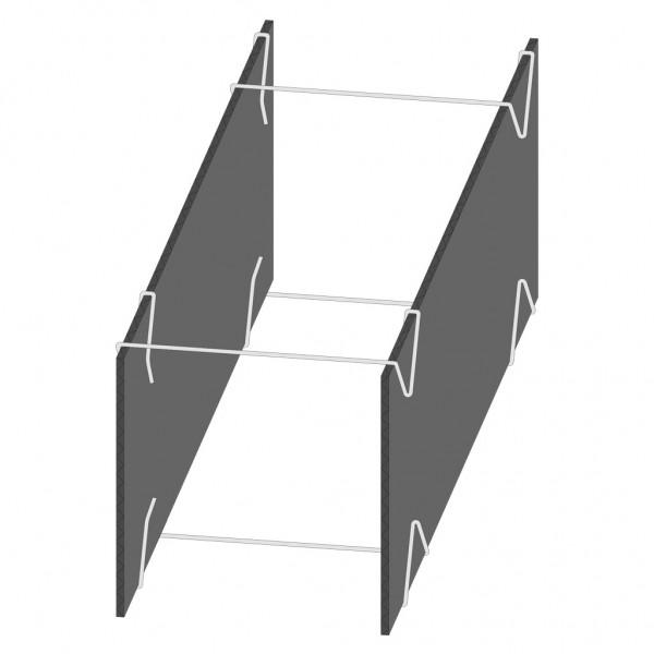 Fundamentschalung Typ FPP fix - ohne Boden